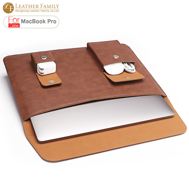 For macbook pro 13 inch case luxury vintage pu leather for Housse macbook 13