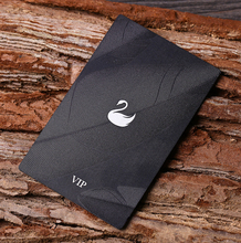 Custom metal playing cards laser engraved 100pcs/lot high-end metal membership card free shipping custom metal stainless steel playing cards printing with laser cut for the membership card