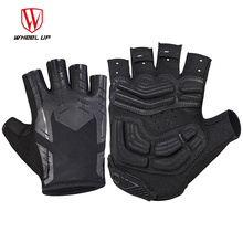 WHEEL UP Half Finger Cycling Gloves SBR Fillings Bike Racing Mountain Cycling Glove Breathable MTB Road Bike Cycling Gloves wheel up half finger cycling gloves gel bicycle bike racing sport mountain cycling glove breathable mtb road bike cycling gloves