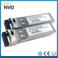 Free Shipping 10Gbps 1270/1330nm BIDI SFP+ 10G 40km Fiber Optic Transceiver Module,Compatible with Cisco code