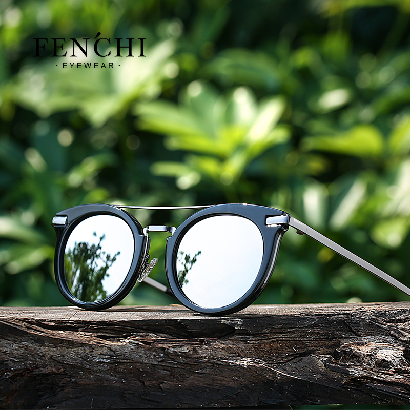 2019 new polarized lady sunglasses fashion trend frame series sunglasses 1
