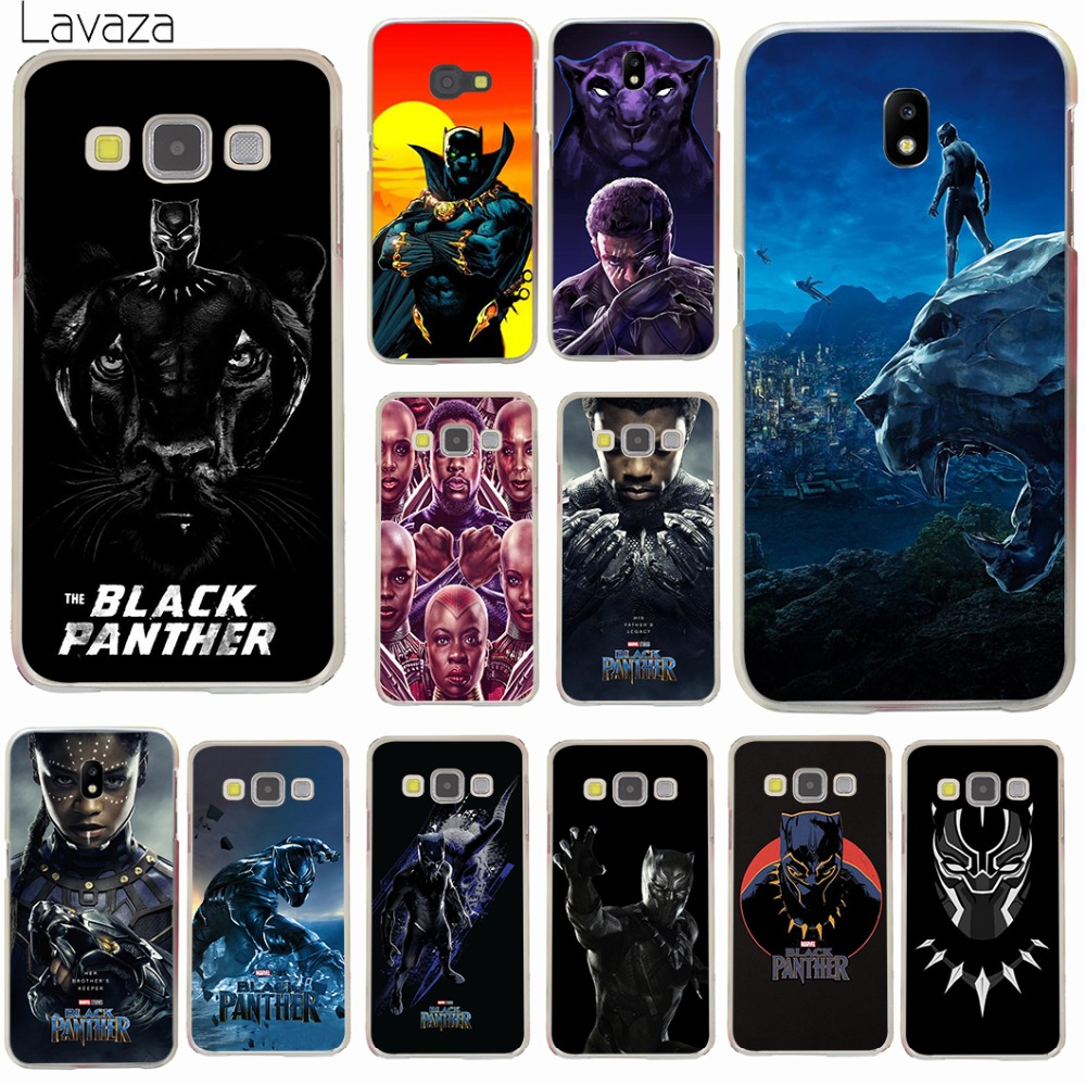 Lavaza Marvel Comics Black Panther Hard Phone Case Shell for Samsung Galaxy A3 A5 2017 A9 A8 A6 Plus 2018 Note 8 9 Cover capa gucci iphone x