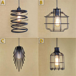 Design Art Deco lampa wisząca lampa w stylu industrialnym do kuchni wyspa Farmhouse czarna lampa wisząca z kloszem