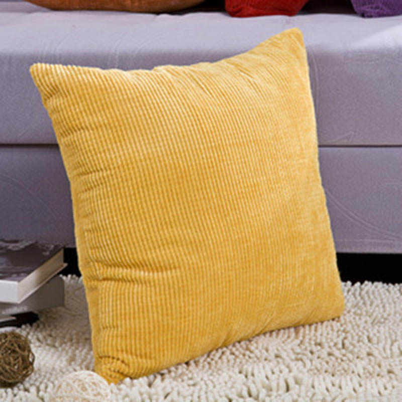 Декоративные подушки для дивана, чехлы для подушек, чистый цвет, Простой автомобильный домашний декор, белый бросок, Чехол на подушку 45*45 Travesseiro