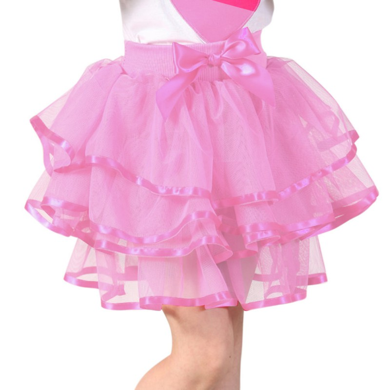 6a8766503 Baby Girl Tutu Skirt Cute Kids Princess Tulle Skirts Summer Children ...