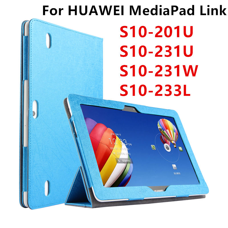 Case For Huawei MediaPad Link PU Protective Smart cover Protector Leather font b Tablet b font