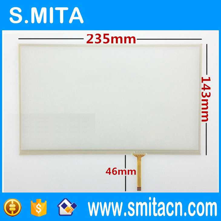 все цены на  10.2 inch resistive touch screen industrial medical security equipment touch screen 235*143 235mm*143mm  онлайн