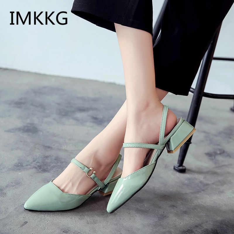 2018 New Pointed Toe Shallow ผู้หญิงรอง