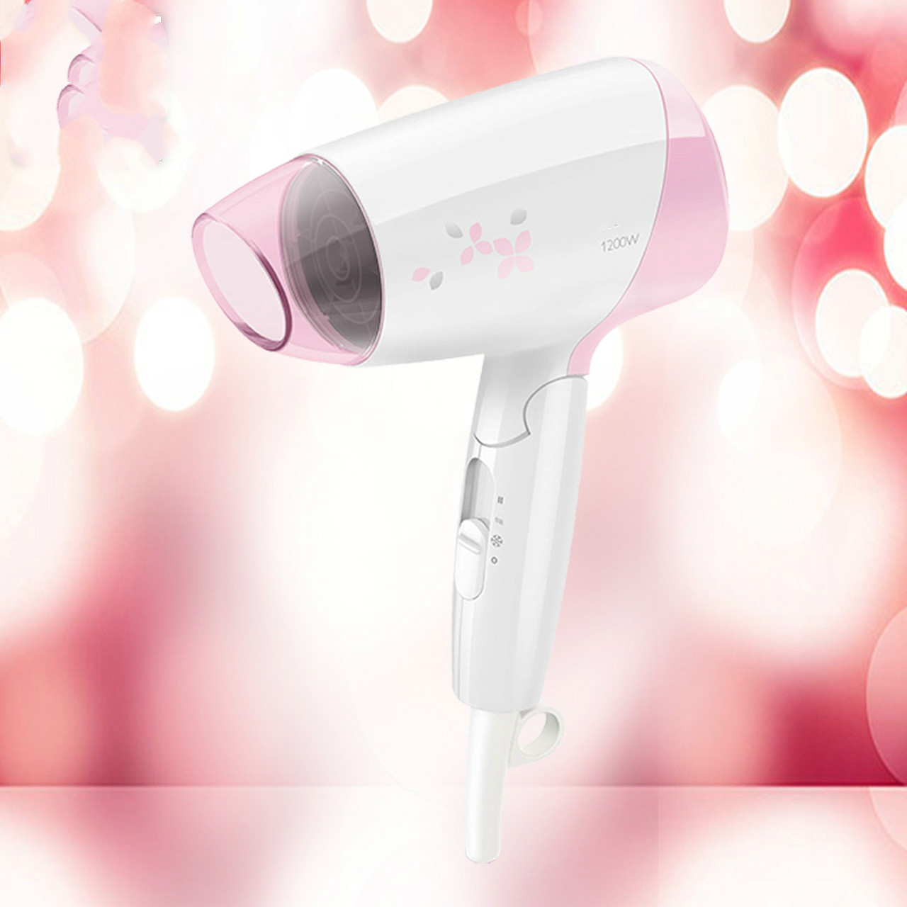 Hair Dryers electric dryer HP8120 household thermostat folding hot and cold wind power mini NEW цена и фото