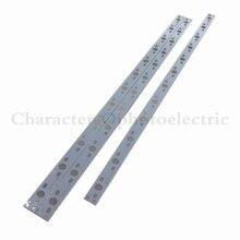 20pcs 30CM x 1CM Aluminium PCB Circuit Board for 12 x 1w,3w,5w LED in Series цена