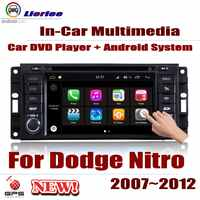 Car Radio DVD Player GPS Navigation For Dodge Nitro 2007~2012 Android HD Displayer System Audio Video Stereo In Dash Head Unit