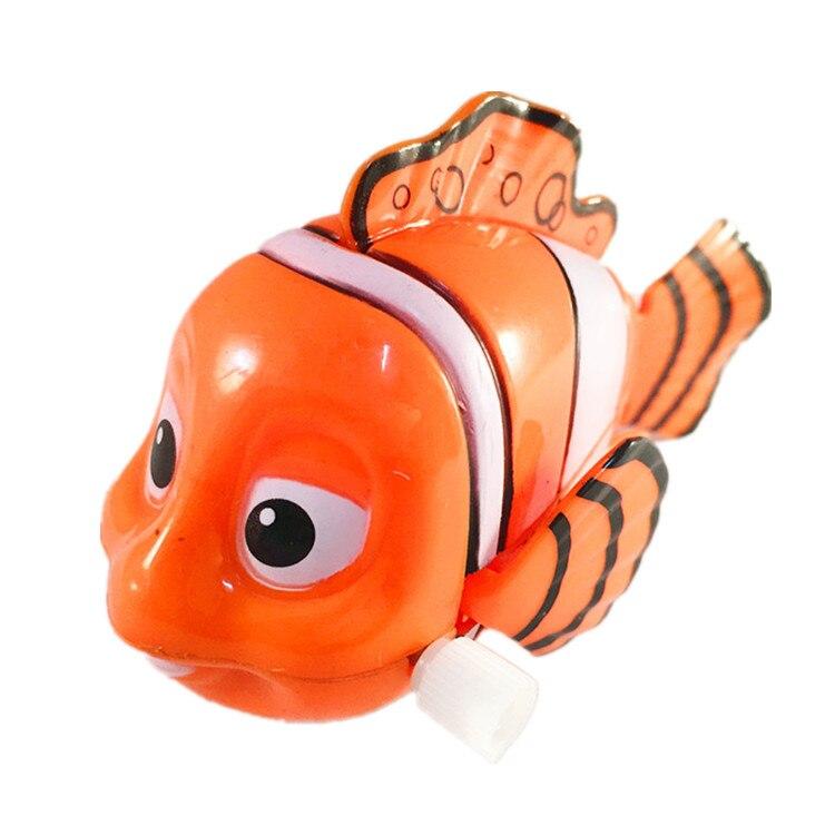 1PC Cartoon Animal Wind Up Toys Fish Clockwork Classic Toy Newborn For Gifts Kids Birthday
