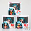 3pcs/Lot Japan Anime Figure Hatsune Miku Figure Brinquedos Yukata PVC Action Figure Juguetes Collection Model Toys