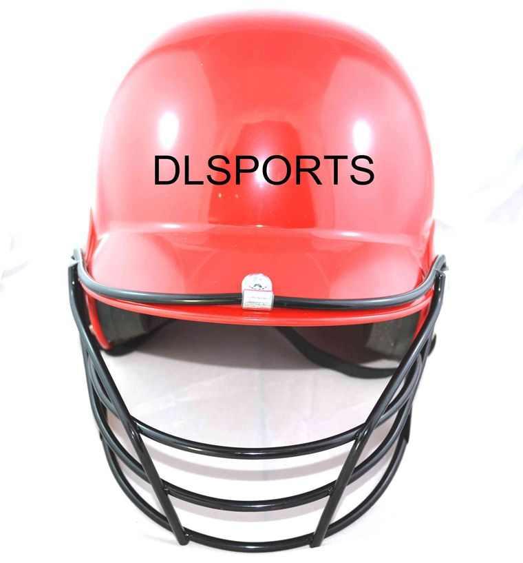 Casco de bateo de béisbol de Softball para adultos profesionales con sombrero negro de protección facial para montar en seguridad Camping senderismo, envío gratis