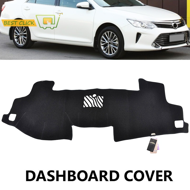 Fit For Toyota Camry Xv50 2017 2016 Dashboard Cover Dashmat Dash Mat Pad Sun Shade Board In Car Anti Dirty From