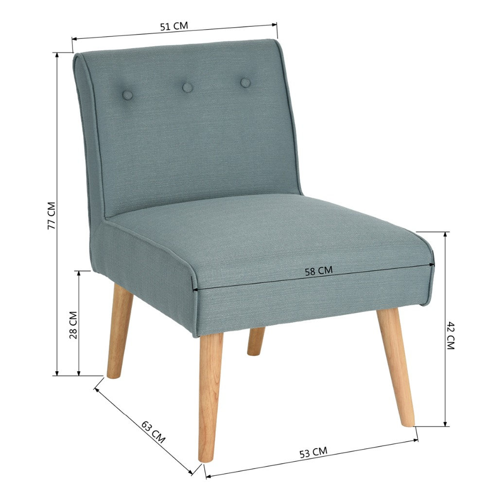 Eggree mid century modern style armchair sofa chair legs wooden living room furniture bedroom chair accent chair in living room chairs from furniture on