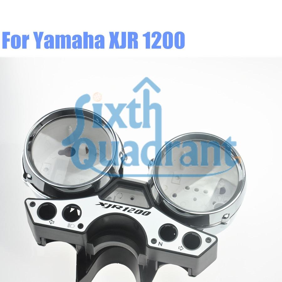 Мотоцикл замена обновление пользовательские спидометр и тахометр кластера комплект Чехол для YAMAHA XJR1200 89-97