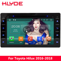 KLYDE 8 4G Octa Core Android 8.0 7.1 6 4GB RAM 32GB ROM Car DVD Multimedia Player Radio Stereo For Toyota Hilux 2016 2017 2018