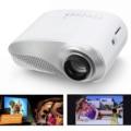 Mini LED Proyector Portátil Home Cinema Multimedia de Cine En Casa HDMI USB para PC Portátil de DVD USB Smartphone Enchufe de LA UE