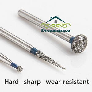 Image 5 - 100pcs Dental carbide burs Diamond FG High Speed Burs for Polishing Smoothing  Dental Burs HP burs