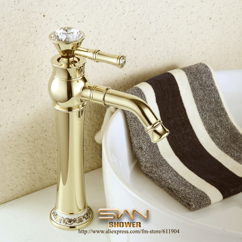 Luxury 12  Gold Color Bathroom Faucet Bath Bar Vessel Basin Faucets Mixer  Tap Single Lever Handle in Underwear from Mother   Kids on Aliexpress com. Luxury 12  Gold Color Bathroom Faucet Bath Bar Vessel Basin