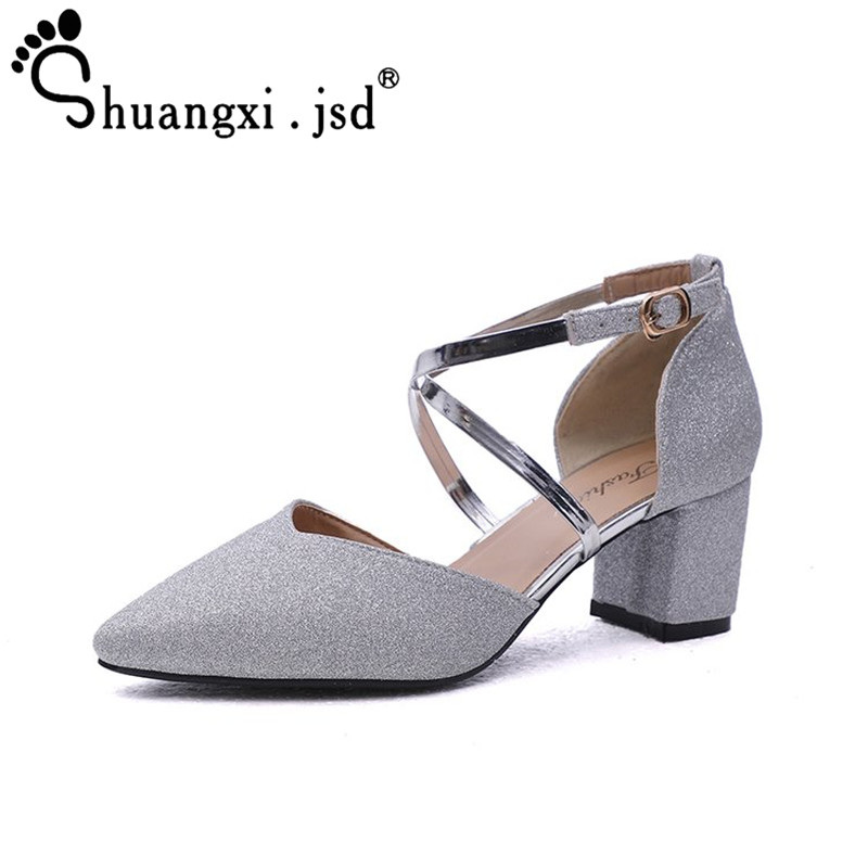 Sexy Large Size Women Sandals 2018 Summer Women Shoes Fashion Shallow Mouth High heel Woman Sandals 34-40 Zapatos Mujer xiuningyan horsehair sandals women flat heel sandals fashion summer low heel shoes woman sandals summer plus size free shipping