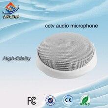 SIZHENG COTT-S5 High sensitive CCTV microphone security sound monitor audio pickups for camera  DVRs NVRs