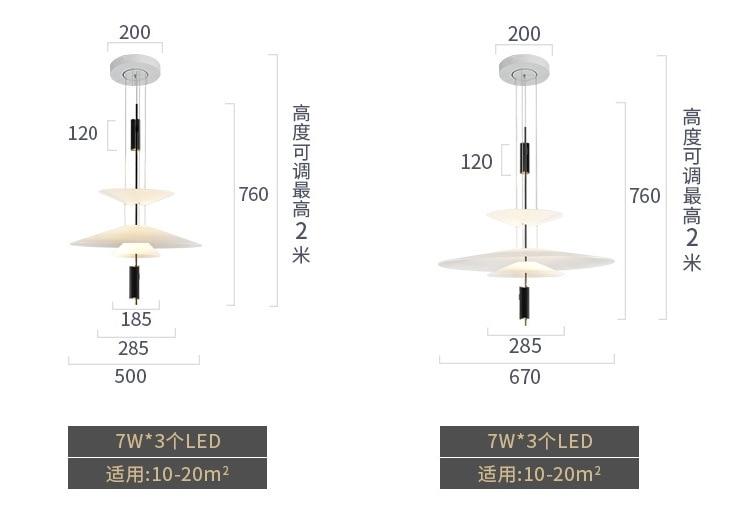 HTB1H.p3elCw3KVjSZFuq6AAOpXaP - Modern Acrylic LED Pendant Light Shadow Dining Room Kitchen Light Designer Hanging Lamps Indoor Lighting