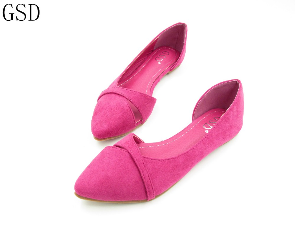 fashion  Women's shoes comfortable flat shoes   -GS159-6-  New arrival Flats shoes large size shoes Women  flats сковорода tefal c4000472 meteor ceramic