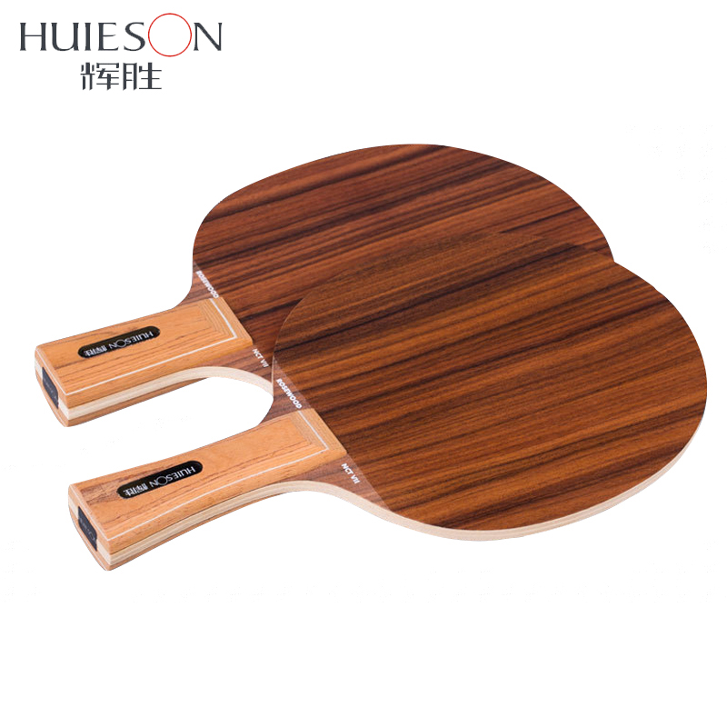 Huieson Prime Rosewood Table Tennis Blade 7 Ply Solid Pure Wood Powerful Ping Pong Blade Table Tennis Racket DIY Accessories hrt rosewood nct vii table tennis ping pong blade 7 ply wood