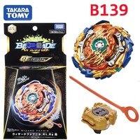 Takaratomy Beyblade Burst B 139 Starter Wizard Fafnir . Rt . Rs Sen bay blade with launcher Bayblade gyroscope Toys for boy|Spinning Tops| |  -