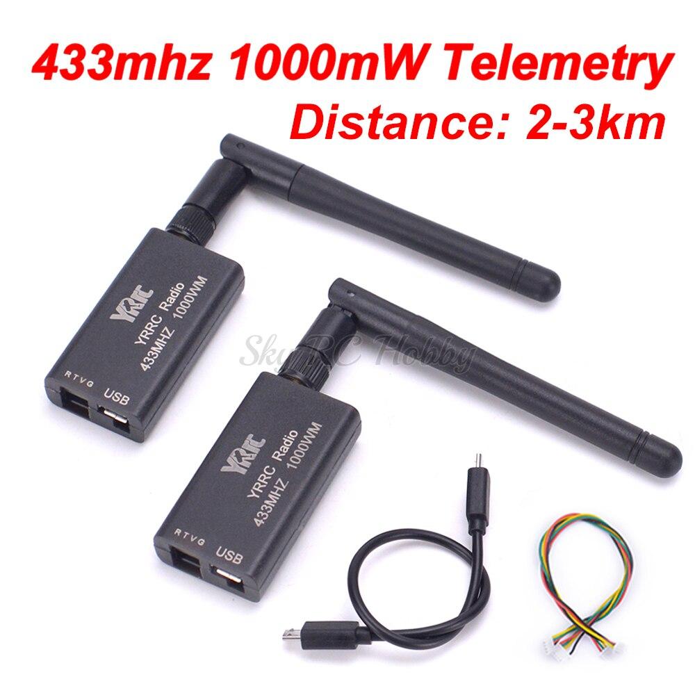 3DR Radio 433mhz 433 1000MW Data Telemetry TTL USB Port 2KM 3KM distance For APM2 6