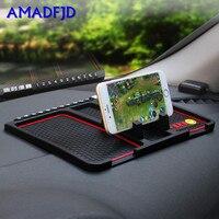 1PCS Phone Holder Anti Slip Mat Car Use Function Dashboard GPS Anti slip Mat ForPhone Interior Decorations