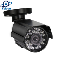 SSICON Black Metal Housing Hi3516C DSP Sony IMX322 Sensor Waterprof Outdoor Security 1080P IP Camera POE
