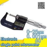 Digital Micrometer For External Measurements 0 25 Mm 0 001mm Micrometer Electronic Acute Electronic Single Point