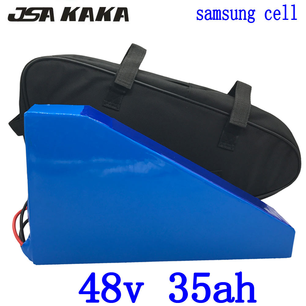 48V 35ah 1500W 2000W lithium battery 48V 35AH ebike battery 48V 35AH electric bike battery use samsung cell and 54.6V 5A charger48V 35ah 1500W 2000W lithium battery 48V 35AH ebike battery 48V 35AH electric bike battery use samsung cell and 54.6V 5A charger