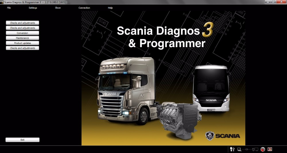 ForScania SDP3 2 28 dont need dongle activation