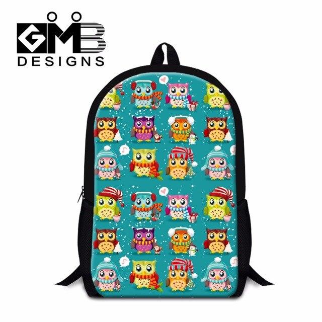 99262e398a Cute Owl print school backpacks for Girls