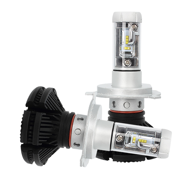 Sunmeg X3 ZES H4 H7 LED Car Headlight Bulb 3000K/6500K/8000K 100W 12000LM Headlight Car Automobile Head Lamp LED DRL Car Lights