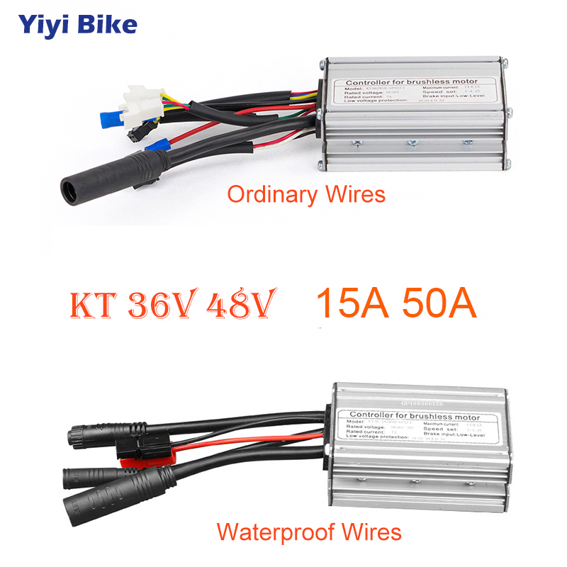 Electric Bike Brushless Motor Controller 36V 500W for Electric Scooters