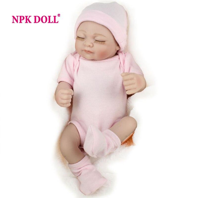 Reborn Baby Dolls Silicone Full Vinyl Body 10/'/'Lifelike Newborn Doll Toy