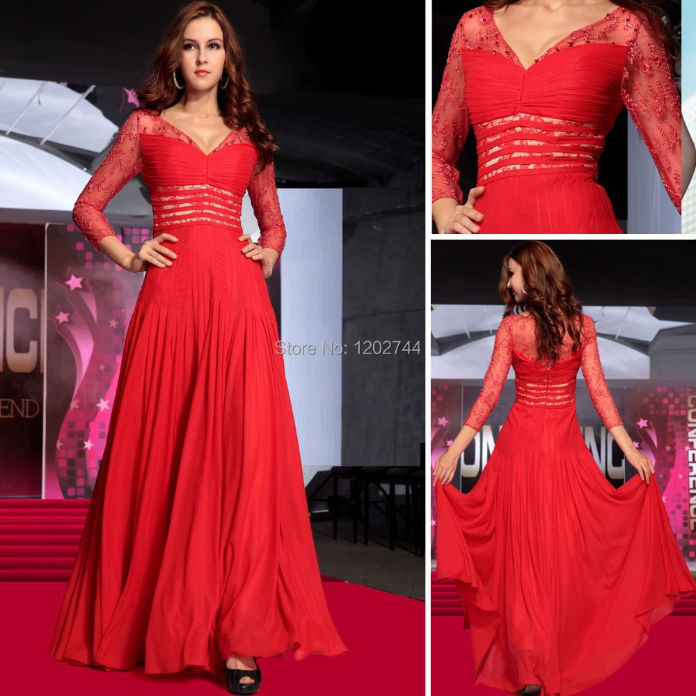 Online Get Cheap Red Winter Formal Gowns -Aliexpress.com | Alibaba ...