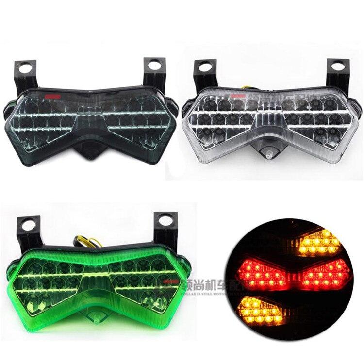 Fast Pro stop indicatori di direzione per Kawasaki ZX6R 2007-2008 ZX10R 2008. Luci a LED per fanali posteriori