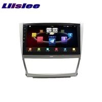 Для Toyota Camry XV40 2006 ~ 2011 liislee Автомобильный мультимедийный ТВ DVD gps аудио Hi Fi Радио Стерео оригинальный Стиль навигации NAVI