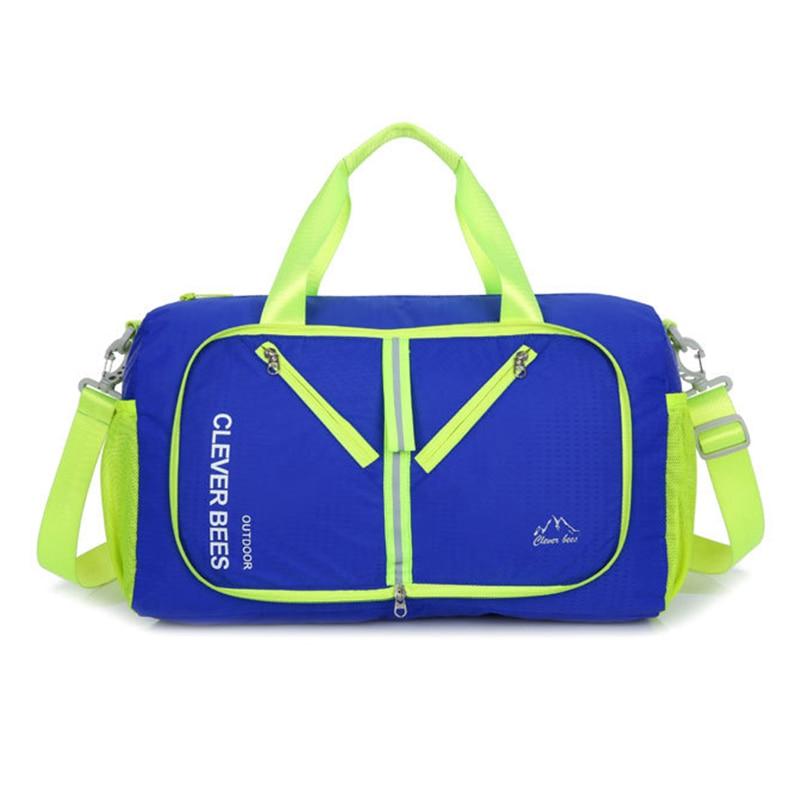 2018 Summer New Waterproof Wear-resistant Oxford Travel Bags Fashion Foldable Unisex Travel Organizer Duffle Bag Shoulder Bag
