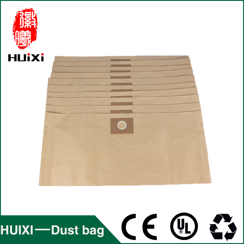10 pcs Vacuum cleaner paper dust bags and change bags with high efficiency of vacuum cleaner parts for GY-308 dust bags and dust bucket of vacuum cleaner parts with high efficiency for vt02w 09b t3 l201b etc