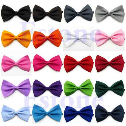 Atacado moda bonito criança coro executar estudante adulto gravata gravata colar roupas