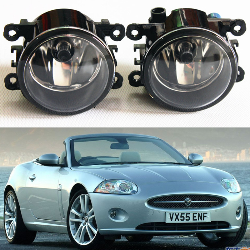 For Jaguar S-Type X-TYPE XK 1999-2013 Car styling General Fog lights halogen lamps 1set 35500-63J02