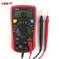 UNI-T UT136B Мини Ручной цифровой мультиметр AC/DC Вольт Ампер Кепки герц. Метр ом Мониторы диагностический инструмент нескольких тестер