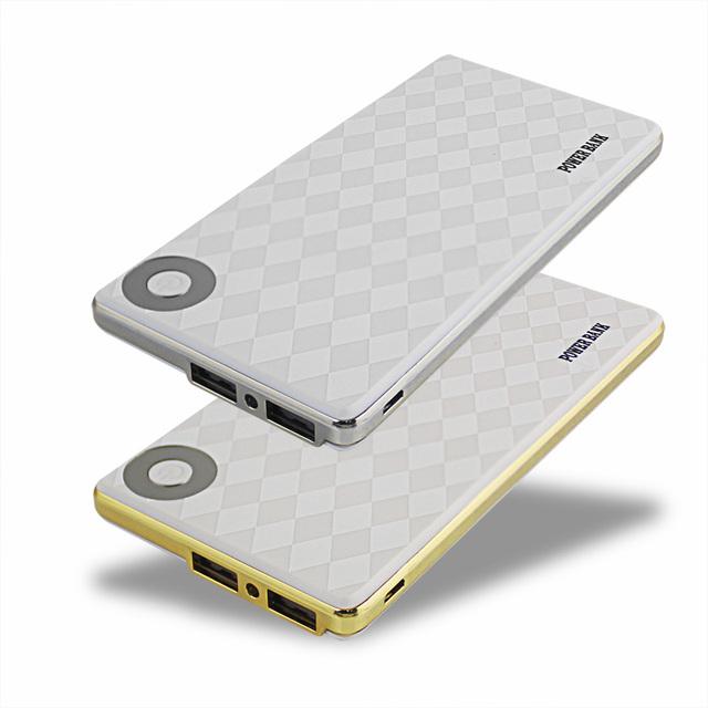Banco móvil de la energía 10000 mah dual usb batería externa powerbank cargador de batería li-polímero con 1 m de cable de teléfono para xiaomi